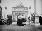 Plaster and Wood Dewey Arch at 5th Ave. and 23rd St.to Commemorate Admiral Dewey's 1898 Victory - Wallace G. Levison
