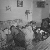 Charles C. Todd and His Family, Praying in the Morning Before Breakfast - Wallace Kirkland