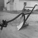 View of a Farmer's Plow - Wallace Kirkland