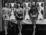 Winning Models Marianne Baba, Lois Conway and Ruth Swensen During a Chiropractor Beauty Contest - Wallace Kirkland