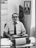 Journalist Art Buchwald in His Office - Walter Bennett