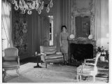 Lady Bird Johnson in Her Home - Walter Bennett