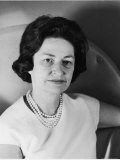 Portrait of Lady Bird Johnson - Walter Bennett