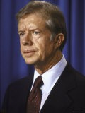 President Jimmy Carter During Meeting, with Three Mile Island Accident Committee - Walter Bennett