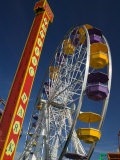 Pacific Park Ferris Wheel, Santa Monica Pier, Los Angeles, California, USA - Walter Bibikow