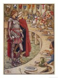 Sir Galahad is Introduced to the Round Table - Walter Crane