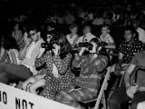 Crowd, Some with Binoculars, Awaiting Arrival of Rolling Stones for Concert at Forest Hills Stadium - Walter Daran