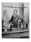 Wilhelm Conrad Rontgen, German Physicist Discovered X-Rays - Walter E. Hodgson