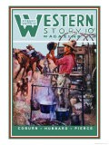 Western Story Magazine: Supper Time - Walter Kaskell Kinton