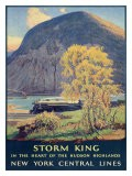 Storm King, New York Central Lines - Walter L. Greene
