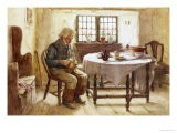 A Poor Man's Meal, 1891 - Walter Langley