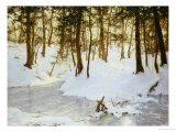 Ice in the Glen, 1908 - Walter Launt Palmer