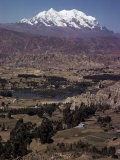 Illimani, 21184 Ft, Near La Paz, Bolivia, South America - Walter Rawlings
