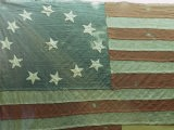 Oldest U.S. Flag, State House, Annapolis, Maryland, USA - Walter Rawlings