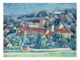 Hardricourt Village and Castle - Walter Rosam