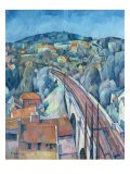 The Railway Bridge at Meulen - Walter Rosam