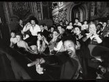 Audience Members Enjoying Alan Freed's Easter Show at Brooklyn Paramount Theater - Walter Sanders