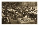 The Coronation Oath- the First Parliament of King Edward Vii, from 'The Illustrated London News' - Walter Wilson
