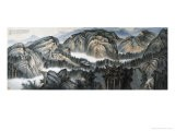 Cloud-Surrounded Mountains - Wang Chingho