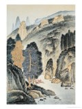 Crystal Stream in Mountains - Wang Chingho
