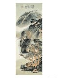 Spring Landscape on a Folded Screen - Wang Chingho