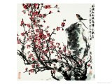 Cherry Blossoms and Bird - Wanqi Zhang