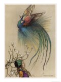 The Girl the Tree and the Bird of Paradise - Warwick Goble