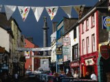 Street Decorated with Buntings and Signs, Ennis, Ireland - Wayne Walton