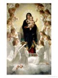 The Virgin with Angels, 1900 - William Adolphe Bouguereau