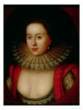 Portrait of Frances Howard (1590-1632) Countess of Somerset, circa 1615 - William Larkin