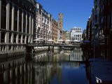 Canal in the Altstadt (Old Town), Hamburg, Germany - Yadid Levy