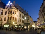 Hofbrauhaus Restaurant at Platzl Square, Munich's Most Famous Beer Hall, Munich, Bavaria, Germany - Yadid Levy