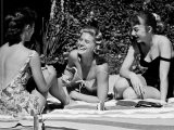 Teenager Suzie Slattery and Freinds Enjoying a Pool Party - Yale Joel