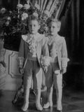 Thurn Und Taxis Princes Louis Philippe and Max Emmanuel Wearing Suits from La Grande Maison - Zacharias