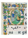 The Miraculous Draught of Fishes, from a Choir Book, Executed Before 1449 - Zanobi Di Benedetto Strozzi