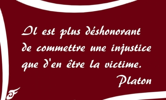 Art Numerique Citation Platon Injustice Philosophie Injustice