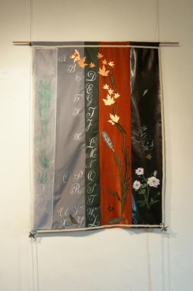 Art Textile Mode Decoratif Original Abecedaire D Automne