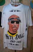 art textile mode personnages hip hop gangsta westside gfunk : NATE DOGG by SLN
