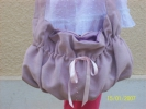 Art textile, Mode - sac lilas