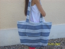 Art textile, Mode - sac plage marin