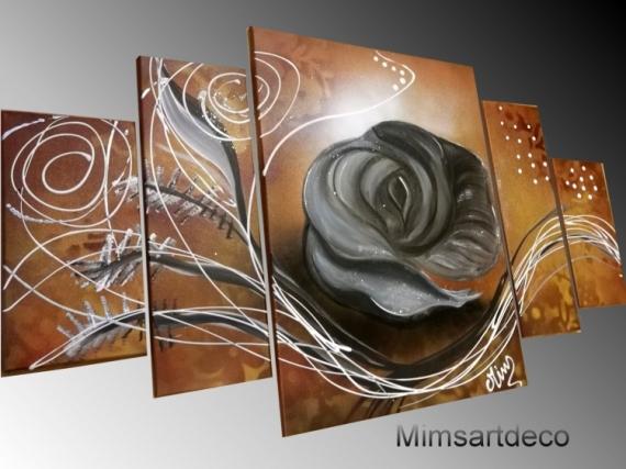 Artisanat D Art Tableau Abstrait Peinture Moderne Tableau