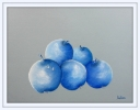 Artiste Peintre - BLUE  APPLES