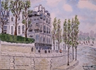 Artiste Peintre - Bords de Seine N° : 10 SZ 05