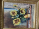 Artiste Peintre - bouquet de tournesols