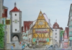 Artiste Peintre - Rothenburg