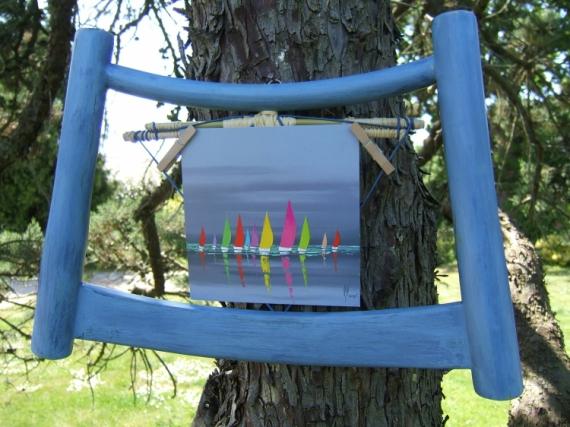 Déco Design Cadre Bleu Marin Décoration Cadre Marin