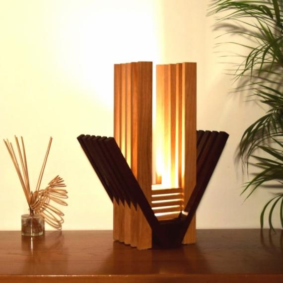Lampe Bois Design Haut De Gamme