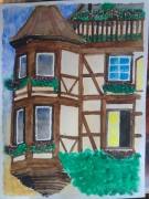dessin architecture alsace kaysersberg maison colombage : Chez nous : Kaysersberg