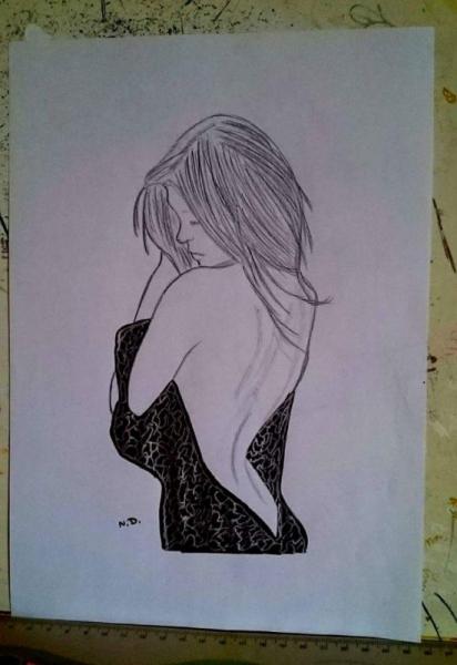 Dessin Femme Sensualite Femme Sensuelle
