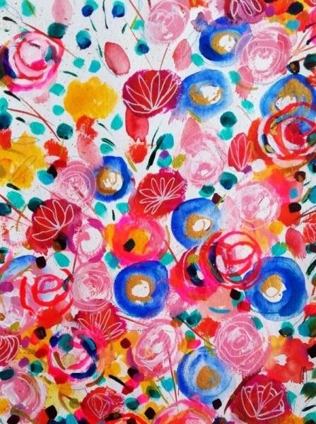 Dessin Fleurs Fleurs Art Fleurs Peinture Fleurs Dessin Fleurs